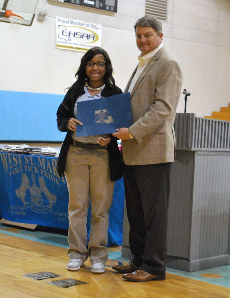 LSA Scholarship Recipient 2015.JPG