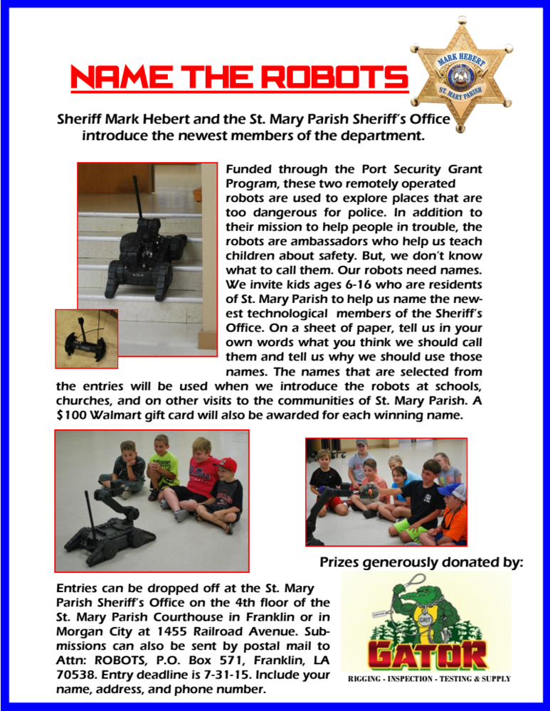 Name The St. Mary Parish Sheriff's Office Robots Flyer.png